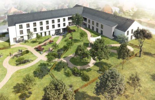 Dokončení výstavby SeneCura SeniorCentra Chotěboř je na dohled