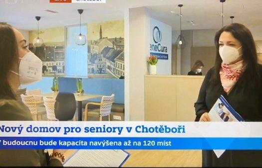 Česká televize v SeniorCentru Chotěboř